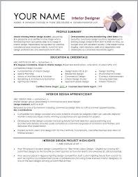 Interior Design Resume Template   Interior Design Resume Template we provide as reference to make correct Pinterest