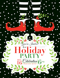 invitation christmas party invitation template best of christmas party invitation template medium size