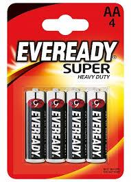 <b>Батарейки Eveready Super Heavy</b> Duty AA 4 шт - купить в Москве ...