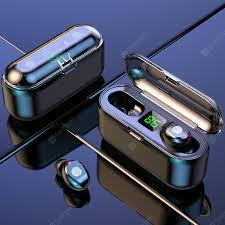 F9-8 TWS Bluetooth True Wireless Earphones 5D Stereo sport ...
