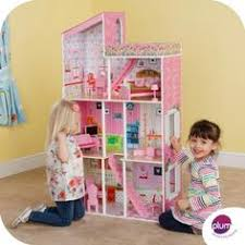 this plum tillington wooden dolls house with 7 stylish rooms includes 14 pieces of brand baby wooden doll house