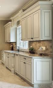 kitchen cabinets with granite countertops: classic kitchen off white with clipped corners on the bump out sink granite countertop
