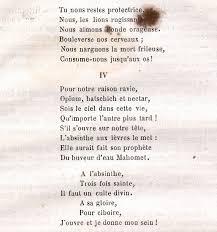 Absinthe.se - Absinthe poetry