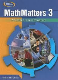 math matters 3 textbook