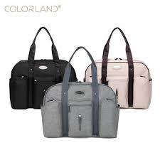 <b>Colorland</b> large capacity baby diaper <b>bag</b> organizer nappy <b>bags</b> ...