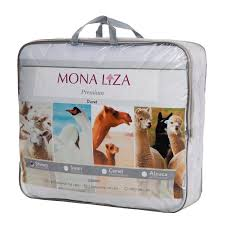 <b>Одеяло</b> Mona Liza искусственный тик овечья шерсть <b>195х215 см</b> ...