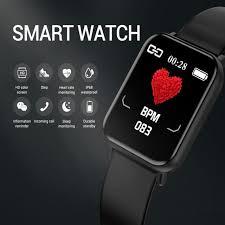 Hot Deal #867a - Smart Watch Men <b>P22 Full Touch</b> Fitness Tracker ...