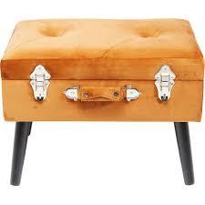 <b>Пуф Suitcase</b> оранжевого цвета — купить по цене 12920 руб в ...