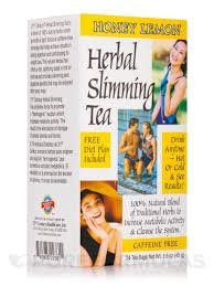 <b>Herbal Slimming Tea</b>, Honey Lemon - 24 Tea Bags