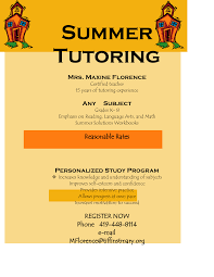 Sample Tutoring Flyers : Sample Tutoring Flyer Templates, In Blog ... Sample Tutoring Flyer Templates