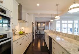 Contemporary Galley Kitchen Galley Kitchen With Island Layout 847