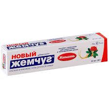 Зубная <b>паста Новый жемчуг</b> лечебно-профилактические, 50 г ...