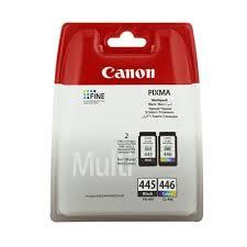 Набор <b>картриджей Canon PG</b>-<b>445</b>/<b>CL</b>-<b>446</b> 8283B004 черный и ...
