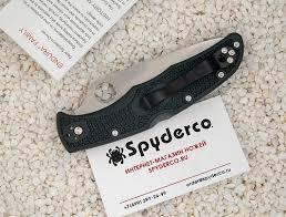 <b>Нож складной</b> SPYDERCO ENDURA 4 <b>ZDP</b>-<b>189</b> C10PGRE ...