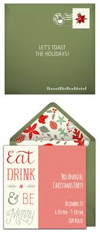 holiday party invitation wording