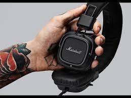 Знакомство с <b>наушниками Marshall</b> Major II - YouTube