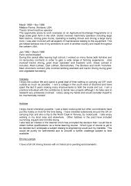 update personal profile resume samples documents 7601075 example profile in resume