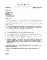 professional teacher cover letter sample college professor cover letter