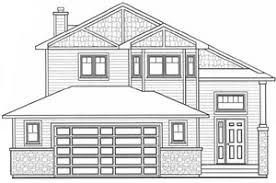 Two Storey Floor Plans   Somerset Homes quot Caronport quot  Modified Bi Level Sq Ft