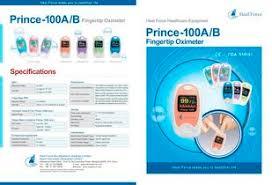 <b>Prince</b>-100A & B Fingertip Oximeter - <b>Heal Force</b> - PDF Catalogs ...