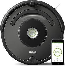 Купить <b>Робот</b>-<b>пылесос IROBOT Roomba 676</b>, серый/черный в ...
