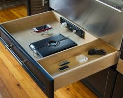 hidden charging station home design photos charging station kitchen central office