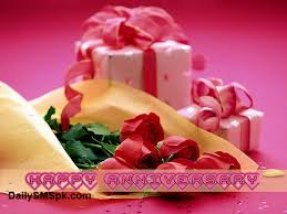 HAPPY MARRIAGE ANNIVERSARY Gift Rose Cards Quotes SMS | DailysmsPK.Net