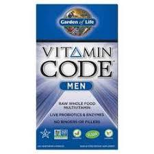 Garden of Life <b>Vitamin Code Men</b> - <b>240</b> VCapsules - eVitamins.com