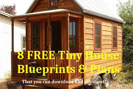 Tiny House Plans Free To Download  amp  Print   Tiny House BlueprintsFree tiny house plans