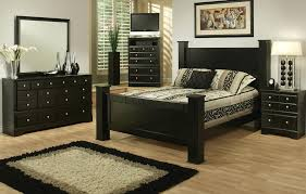 real wood bedroom furniture industry standard: bedroom classic black queen bedroom sets ideas with black and white area rug queen
