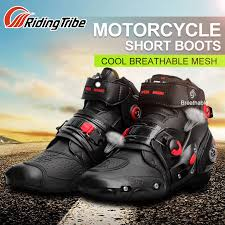 Riding Tribe Windproof <b>Motorcycle</b> Offroad Racing Boots for ...