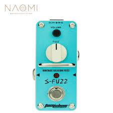 <b>NAOMI</b> Aroma <b>Guitar</b> Effect Pedal ASF 3 S Fuzz <b>Vintage</b> Silicon ...