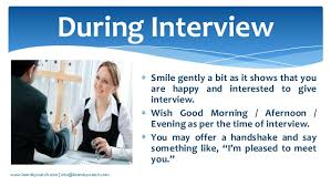 12 best interview tips and body language from experts 1 entering the interviewer room