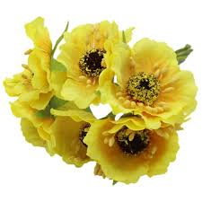 High Quality Silk Poppies Camellia 5cm <b>60pcs</b>/<b>lot</b> Artificial Flowers ...