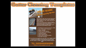 gutter cleaning flyers gutter cleaning flyers