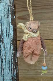 Купить Елочная игрушка <b>Мишка</b> примитив. - <b>брелок</b>, талисман ...