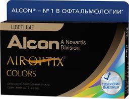 1298 отзывов на <b>Цветные контактные линзы Alcon</b> Air Optix ...