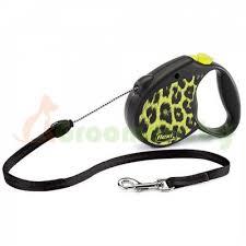 Поводок-<b>рулетка</b> для собак <b>Flexi Leopard Safari</b> M купить в ...