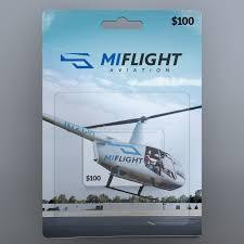 Gift <b>Card</b> - <b>MI</b> Flight Aviation