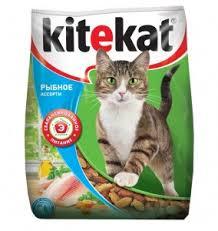 <b>Kitekat Улов Рыбака</b> (Сухой корм для взрослых кошек) 350 г ...