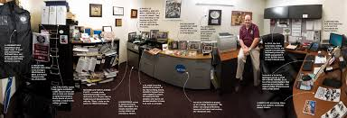 take this job and love it an champion feature org in his office mcdowell is surrounded by the trappings of a 35 year career as a sports information director