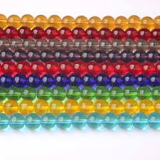 <b>LanLi fashion</b> Jewelry 4/6/8/10/12mm Colorful Glass Loose Beads ...