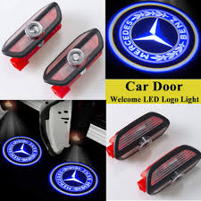 HNZJ <b>2pcs LED Door</b> Courtesy Shadow Logo - Buy Online in ...