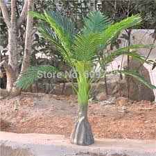 Large 4pcs 86CM Latex <b>Artificial Phoenix Palm Plant</b> Tree Home ...