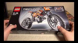 <b>LEGO</b> TECHNIC Кроссовый <b>мотоцикл</b> - 42007 - YouTube