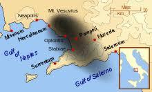 「Il monte Vesuvius eruption 79」の画像検索結果