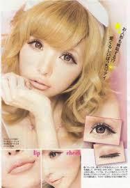 love the big eyes doll makeup
