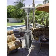 stainless steel patio heater tall stainless steel propane patio heater