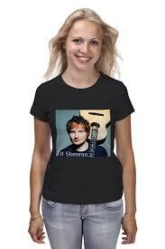 Футболка <b>классическая</b> Ed Sheeran Shape of you #2040250 ...