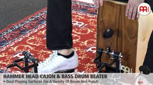 <b>Hammer</b> Head Cajon & <b>Bass Drum</b> Beater - CPB1 - YouTube